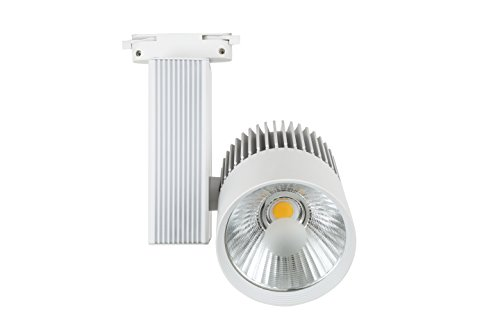 Foco de Carril LED Monofásico G8002 30W Blanco Neutro 4000K