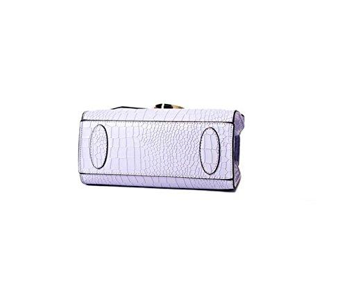 Borse Mini Piccolo Pacchetto Quadrato Di Spalla Portatile Del Messaggero Del Pacchetto Pochette Pacchetto Della Carta Del Pacchetto Del Telefono Grey
