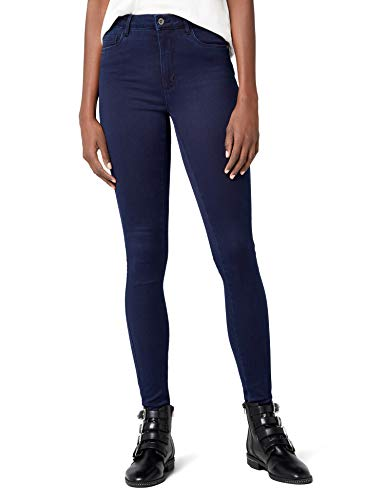 ONLY Damen ROYAL HIGH Skinny Jeans PIM101 NOOS Jeanshose, Blau (Dark Blue Denim), 38/L30 (Herstellergröße: M) (Skins-hose)