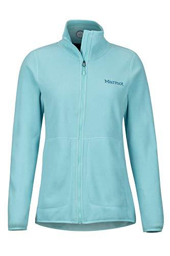 Marmot Damen Pisgah Jacket Atmungsaktiv Fleece Outdoorjacke, Skyrise, M