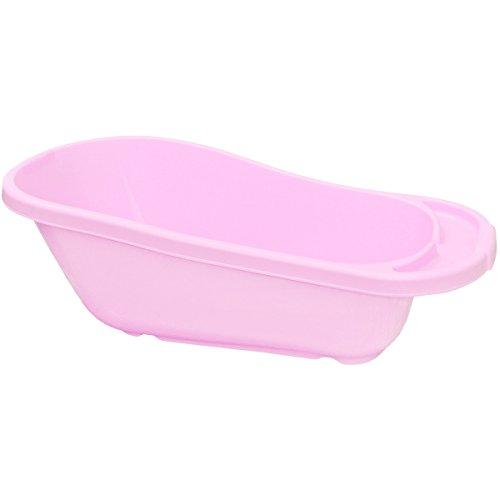 Promobo - Baignoire pour Toilettes Bébé avec Siège Appuie Tête Sécurite Rose