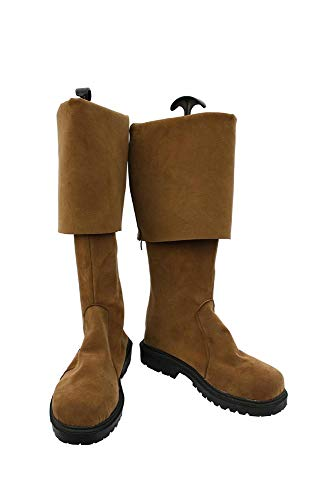 Karnestore Jack Sparrow Cosplay Stiefel Schuhe Standardgröße und Maßanfertigung