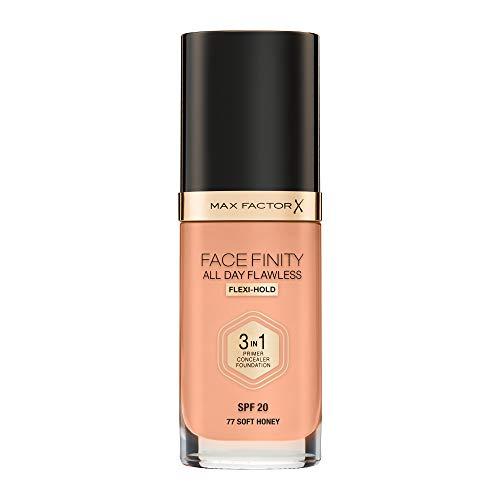 Max Factor, Base maquillaje Tono 077 Honey, 30 ml