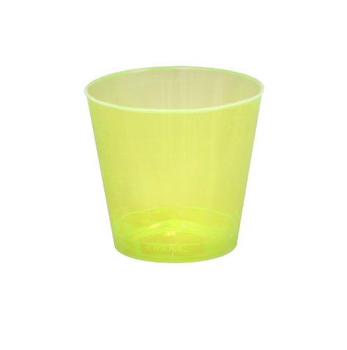 Fineline Settings Savvi Serve Neon-Schnapsgläser, 57 ml, Gelb, 50 Stück