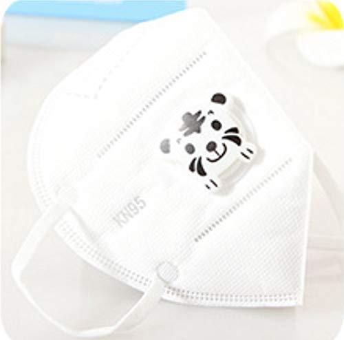 LIUQIAN Maschera per valvola di respirazione monouso Invernale Maschera KN95 Antipolvere Pieghevole per Bambini Tessuto Non Tessuto Maschera Piccola
