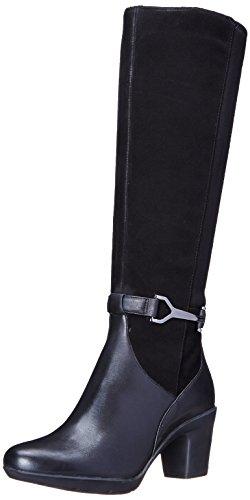 Clarks Lucette Ritz Boot Black Suede