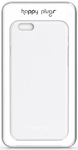 Happy Plugs Ultra Thin Superleichte Smartphone Hülle Case Cover Kompatibel mit Apple iPhone 6 und 6S  - Türkis Weiß