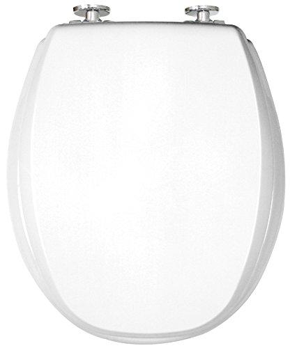WC Sitz mit Absenkautomatik | Premium Toilettensitz Kan 2001 Exclusive mit Absenkmechanismus | Qualitätsprodukt Made in Sweden (weiss)