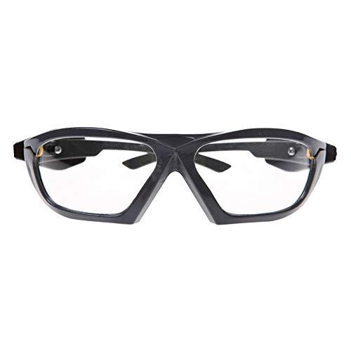 WXJWPZ Schutzbrille Einstellbare ÜBerbrille Auch FüR BrillenträGer FüR Baustelle, Labor, Werkstatt Und Fahrrad-Fahren