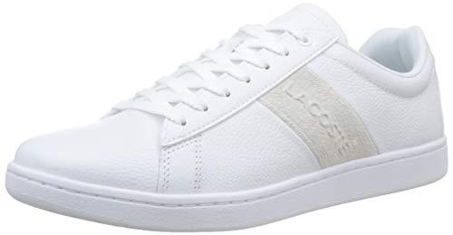 Lacoste Herren Carnaby Evo 319 1 SMA Sneaker, Weiß (Wht/Off Wht 65t), 44 EU