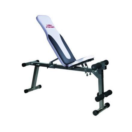 HIGH POWER Panca Fitness HPAD330 Nero/Bianco