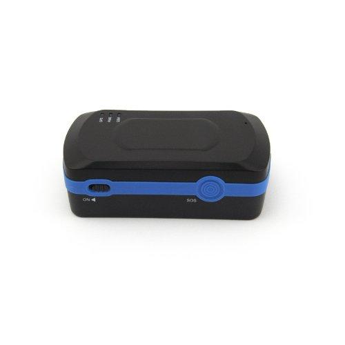 Incutex GPS Tracker Peilsender für Personen und Fahrzeugortung (GPS Tracker TK5000 XL+KFZ-Kabel) Version 2017