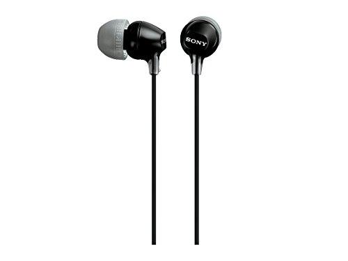 Sony MDR-EX15LP In-Ear Headphones (Black)