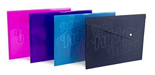 Pukka Pads-Taccuino in formato A4PP Bright a portafoglio