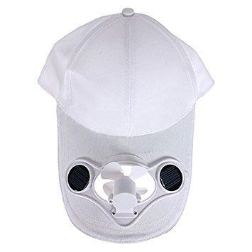 TOOGOO(R) Sommer Outdoor-Solar-Sonnenenergie -Hut-Kappe, die kuehlen Ventilator