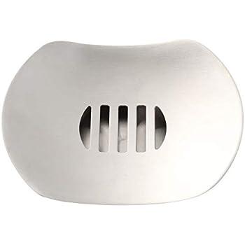 LOFEKEA a forma di disco volante per bagno e doccia portasaponetta in acciaio INOX doppio strato