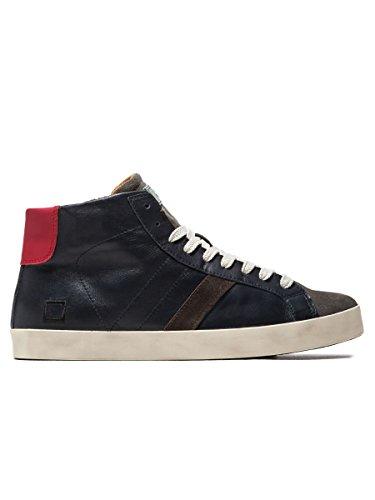 D.A.T.E. sneaker HILL HIGH NAPPA BLUE - Blu, EUR 45
