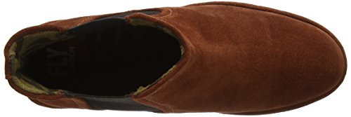 FLY London Damen Phil Chelsea Boots Braun (Brick)
