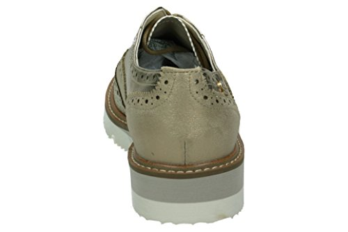 Xti 046706, chaussures Derby femme Or