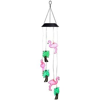 Easymaxx 09383 Pink Flamingo Solar Lights Requires No