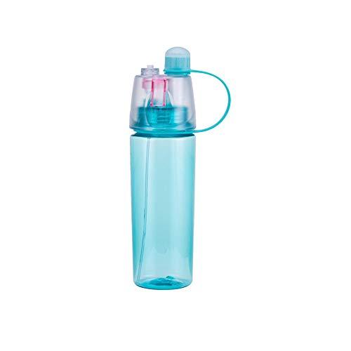 Trinken und Nebeln Flasche, Spray Cup Sommer Feuchtigkeit Schönheit Kühlung Plastikschale Magie Outdoor Custom Sport Flasche Tragbare Tasse Tragbare Luftbefeuchter (Flasche Wasser Zu Kleine Trinken)