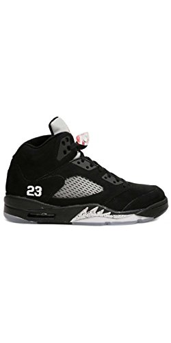 Nike Air Jordan 5 Retro black 136027 004 (44.5 / 10.5 us / 9.5 uk)