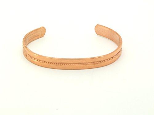 Preisvergleich Produktbild Armband Kupfer Windsor – SABONA Frankreich. Größe: Mittel (152 mm) für Handgelenk 165 mm