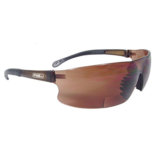 Polycarbonat-rad (Radians RSB-415 Rad-Sequel RSx Lightweight Bi-Focal Glasses with Coffee Polycarbonate Lens by Radians)