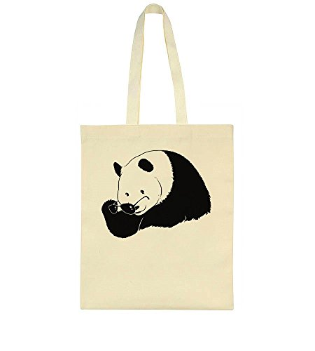idcommerce Cool Panda Taking Of Sungalsses Tote Bag