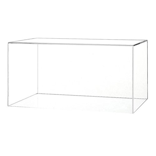 Boxing Glove Acrylic Display Case (Horizontal) with a Choice of Base Styles Cover Only, No Base