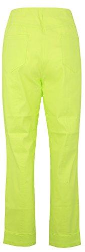 Stehmann Igor-680, sportive 7/8 Damenhose, in vielen weiteren Farben erhaeltlich Lime