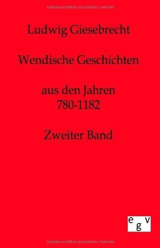 Wendische Geschichten by Ludwig Giesebrecht (2011-07-29)