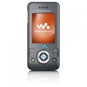 Sony Ericsson W580i Sim Free Mobile Phone - black/grey