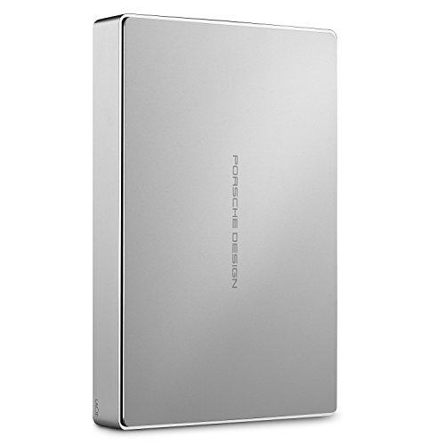 LaCie Porsche Design Mobile Drive 5 TB, externe tragbare Festplatte, 2.5 Zoll,...