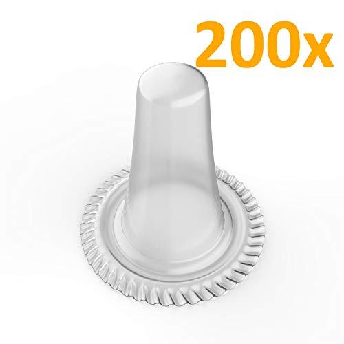 Ersatz-Schutzkappen | Hüllen passend für alle Braun Thermoscan IRT Fieberthermometer | Ohrthermometer Aufsätze 200 Stück