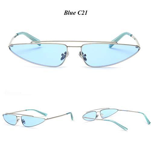 YLNJYJ Cat EyeFrauen Brillen Web Promi Vintage-Mode Sonnenbrillen Männer 90Er Sonnenbrillen Oculos De Sol Feminino
