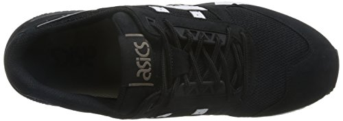 Asics H6w7n, Chaussures Femme Noir/Blanc