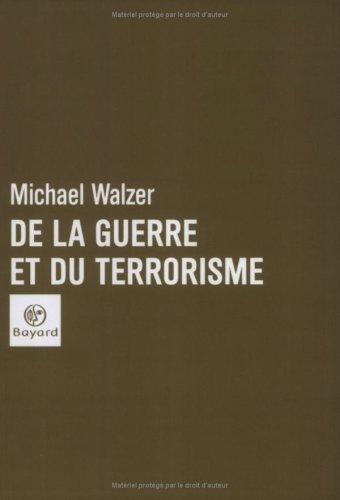 De la guerre et du terrorisme