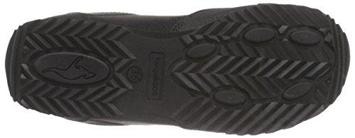 KangaROOS Teno, Low-Top Sneaker donna Nero (Schwarz (blk 500))