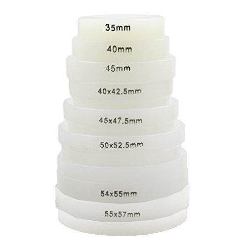 8 Druckplatten XXL PRO für Einpresswerkzeug