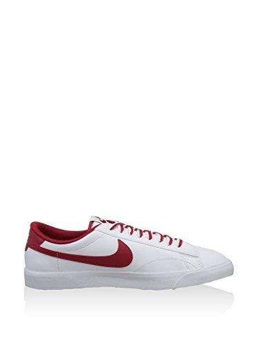 Nike Tennis Classic AC ND, Baskets Basses Homme, Blanc, Talla Blanc - Weiß (White/Gym Red-Gum Med Brown)