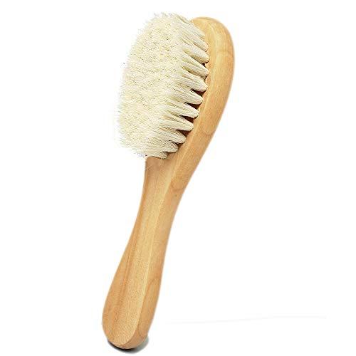 Molylove Cepillo cabello bebé mango madera cerdas