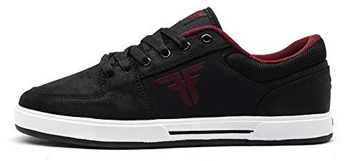 Fallen Patriot. Zapatilla de Skate. Hombre. 44.5 EU, Black/Crimson