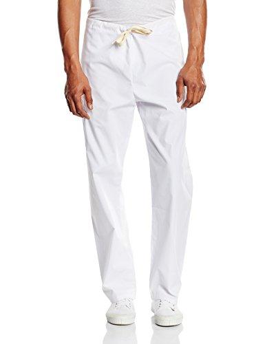 Scrubs Bottoms Pants (NCD Medical/Prestige Medical  50309-2 scrub bottom-white medium)