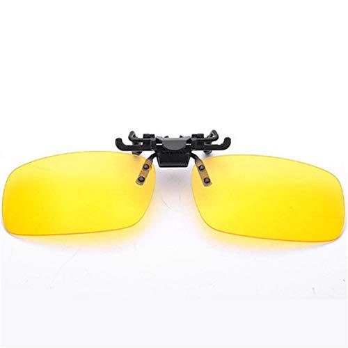 TDPYT Männer Frauen Retro Flip Up Polarisierte Sonnenbrille Clip Auf Myopie Brille Kinder Tag Nachtsichtbrille Sonnenbrille Uv400