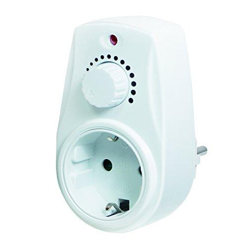 LogiLink PA0151 regulador Regulador de Intensidad Montable Blanco - Reguladores (Regulador de Intensidad, Montable, Giratorio, Blanco, Euroenchufe, Euroenchufe)