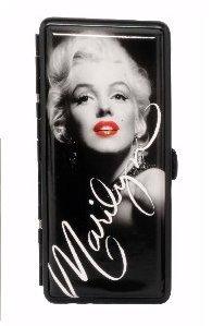 Portasigarette Marylin Monroe con specchio