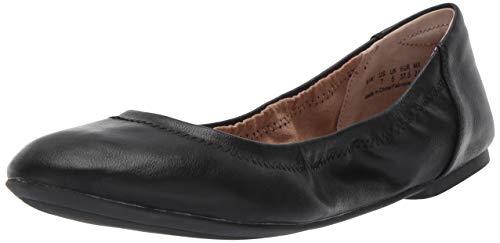 Amazon Essentials Damen Ballerina Schuhe, Schwarz (Black) 40 EU