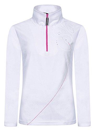 ICEPEAK Melody Sweat zippé en polaire pour femme Blanc - Blanc