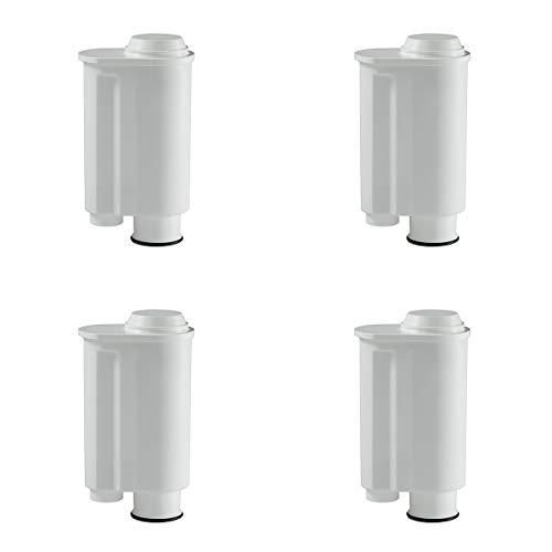 4 Wasserfilter-Patronen passend für Kaffeemaschinen von Saeco-Philipps-Intenza, Lavazza Gaggia, wie Original Saeco CA6702/00
